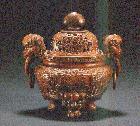 清 竹雕香炉