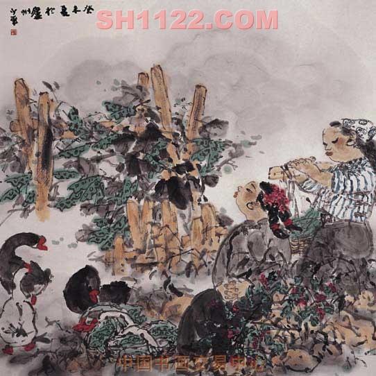 现为上海美术家协会会员,上海市崇明画院常务副院长,《美术天地》杂志