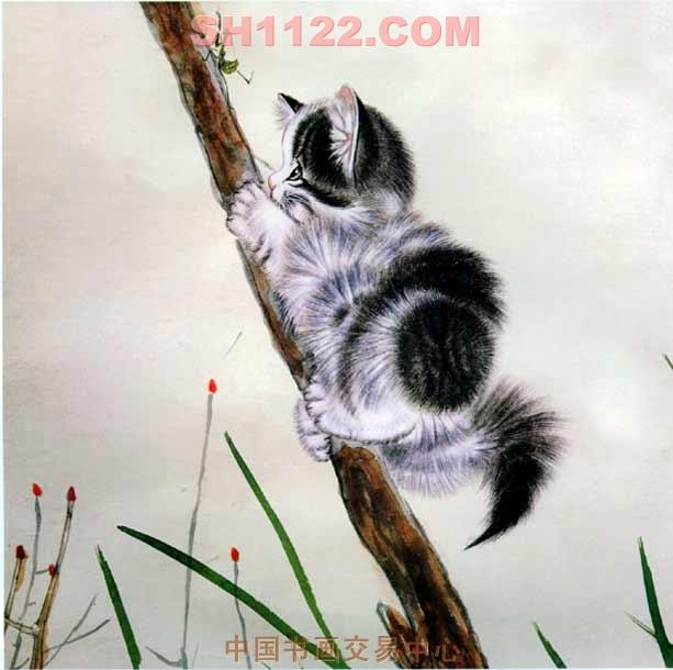 画家李燕动物速写
