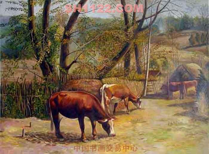 动物 恐龙 油画 700_517