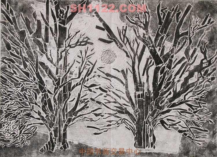 十五的月亮-辜学耕-淘宝-名人字画-中国书画交易中心