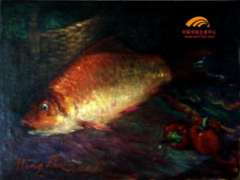 名家 陈名流 国画 - 45-金鲤鱼 当前 位粉丝喜爱本幅作品
