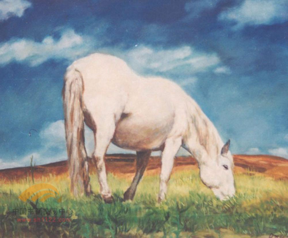 职业画家:《耕种者》--徐祥民油画作品(2) - 石墨閣画廊 - 石墨閣