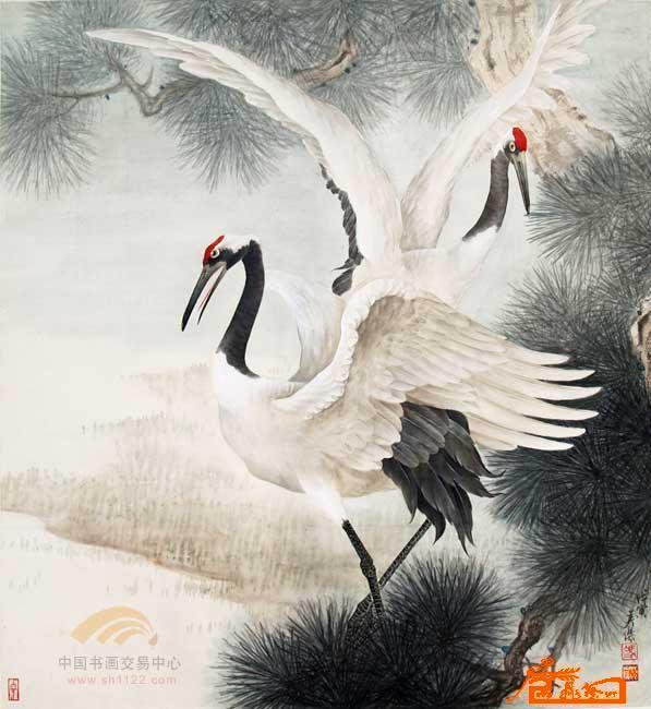 冯英杰-工笔3-淘宝-名人字画-中国书画服务中心,中国