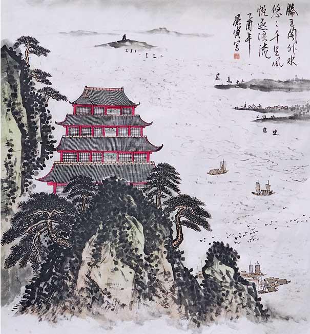 陈海泉-72-腾王阁-淘宝-名人字画-中国书画服务中心