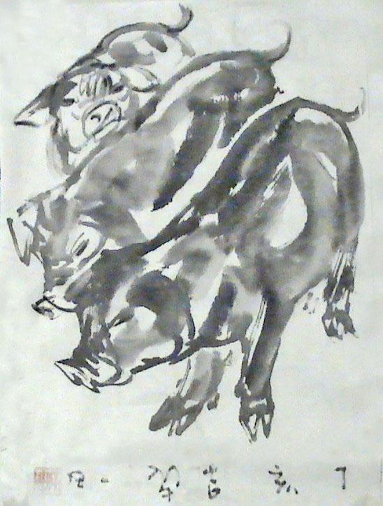 写意猪的画法步骤