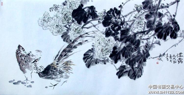 花鸟 6 花鸟 名家 刘东方国际艺术席位作品交易平台