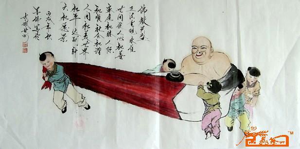佛教兴盛-马世荣-淘宝-名人字画-中国书画交易中心,,.图片