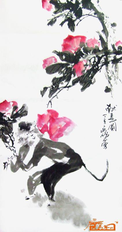 5-刘鸿谷-淘宝-名人字画-中国书画交易中心图片