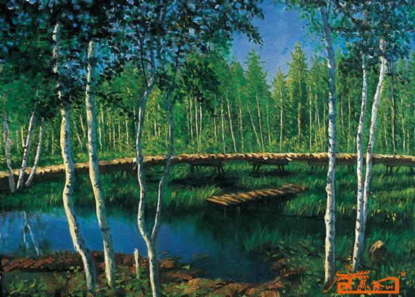 广州新具象 油画 - 风景-1