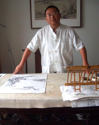 贵州雕塑大师李钢