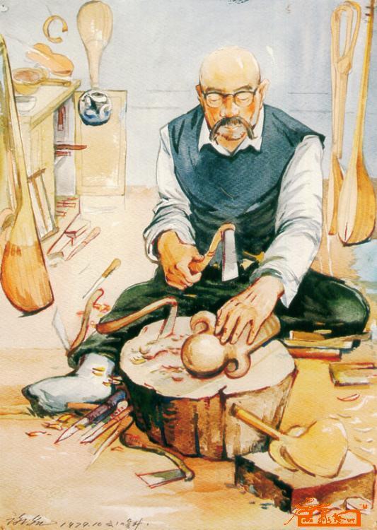 新疆油画大师风景