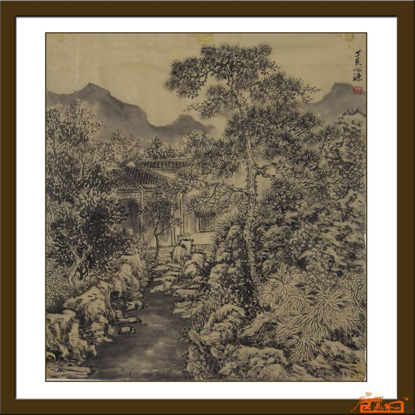 名家 林忠(林心源) 山水 - 中国山水画《苏州园林》 当前 位粉丝喜爱