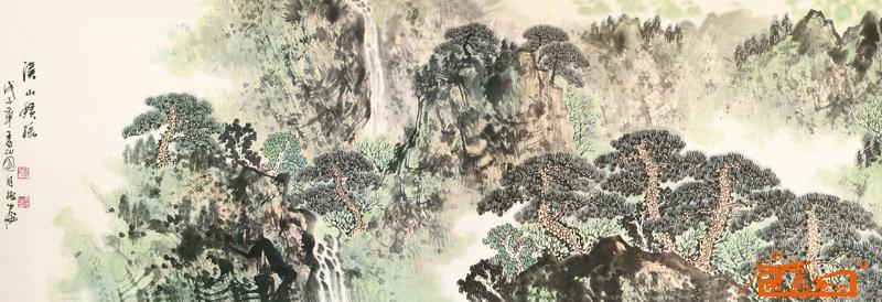 李月振-2(已出售)-淘宝-名人字画-中国书画交易中心