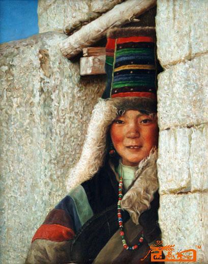 藏族艺术风景图片