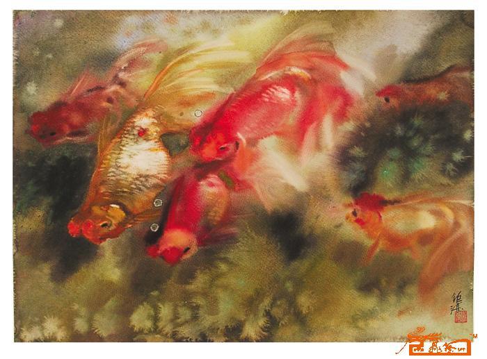 动物运动会水彩画