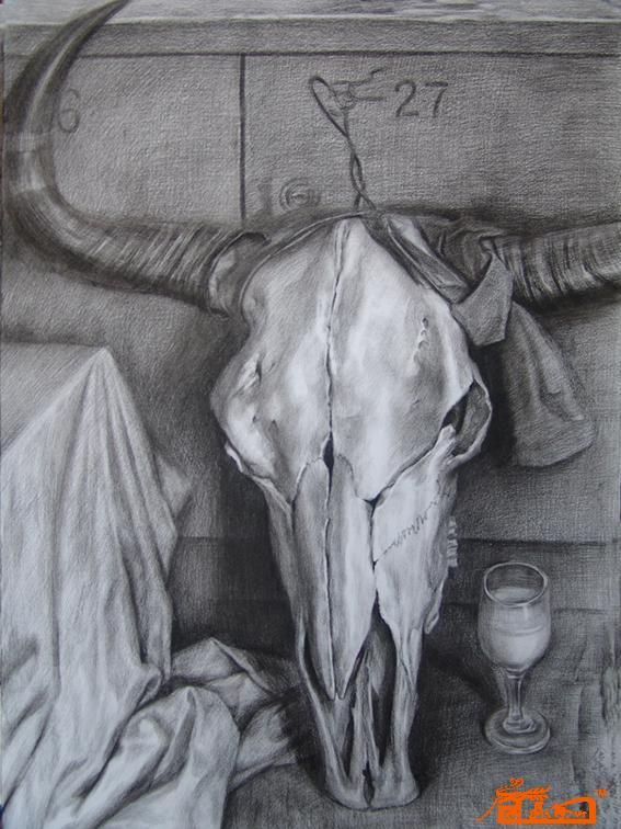牛头图片素描图片 婚纱设计图片素描图,服装设计图片素描图