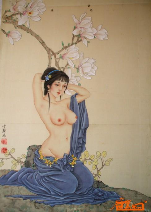 暖春-于静(又名鲁秀)-淘宝-名人字画-中国书画交易