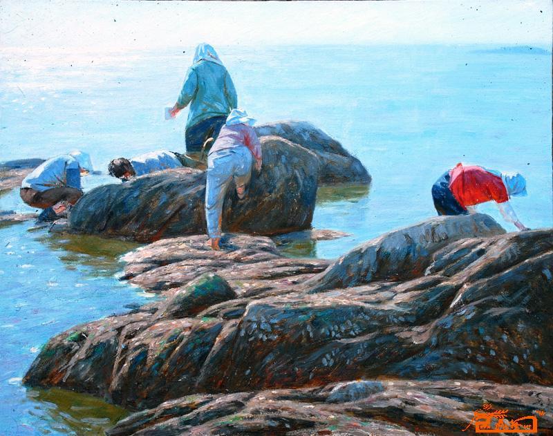 1幅/幅     |第一幅前一幅后一幅最后幅  转到: 作品名称 《赶海