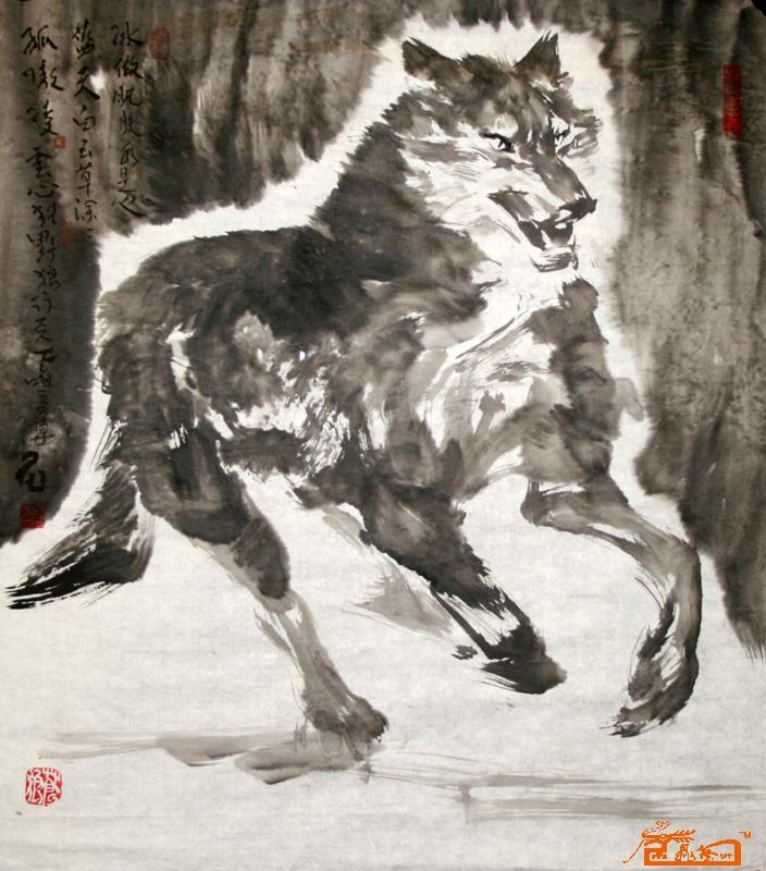 作品44-桑一田-淘宝-名人字画-中国书画服务中心,中国