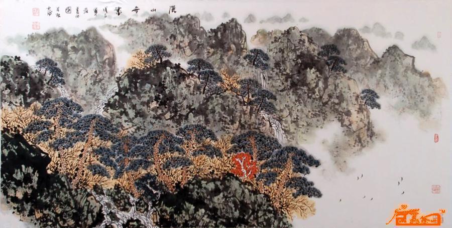 李月振-6(已出售)-淘宝-名人字画-中国书画交易中心