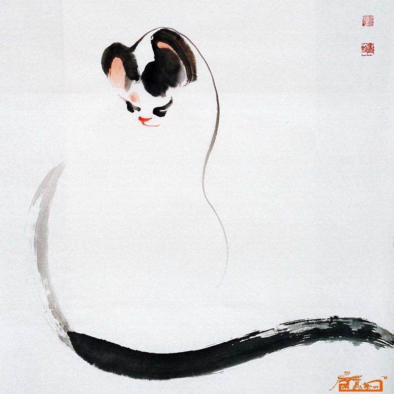 刘维芳-猫咪94-淘宝-名人字画-中国书画服务中心