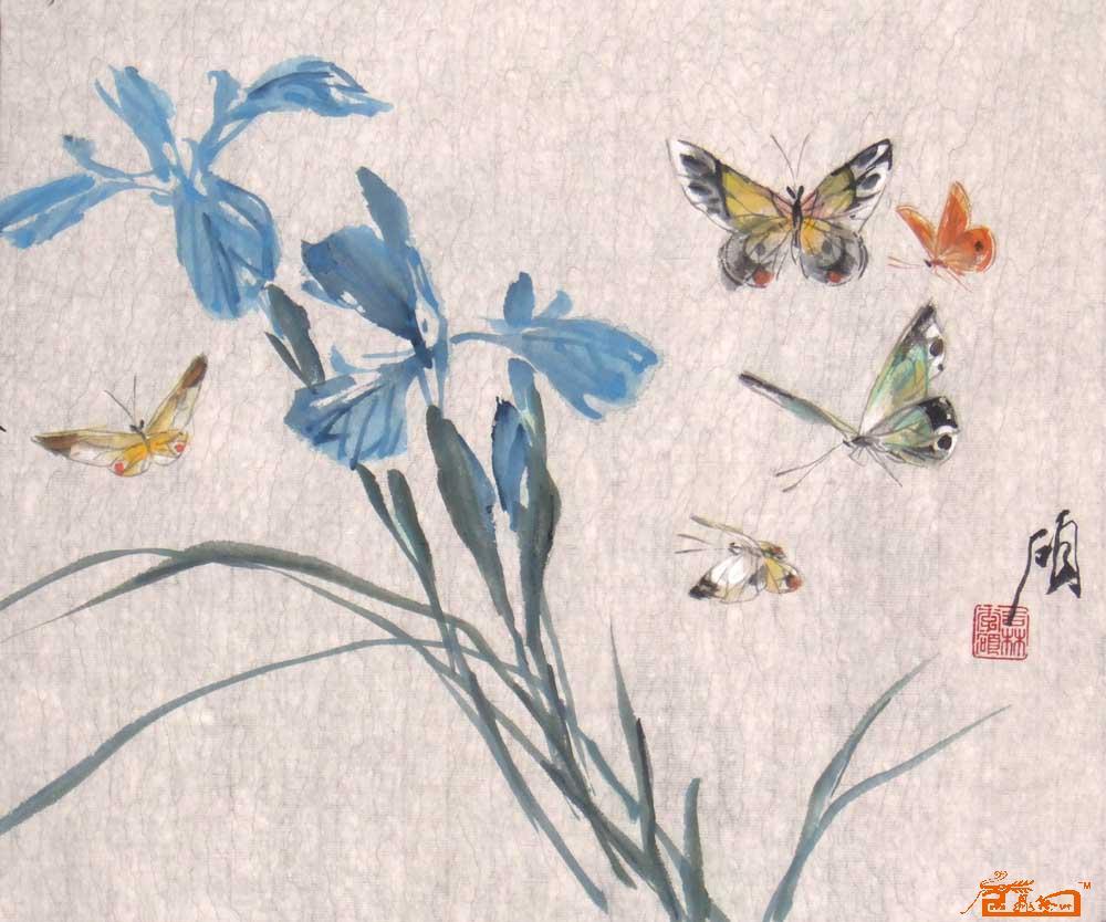 写意蝴蝶的画法步骤