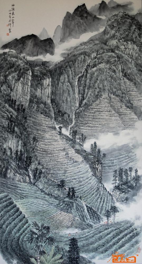 国画 538_997 竖版 竖屏图片