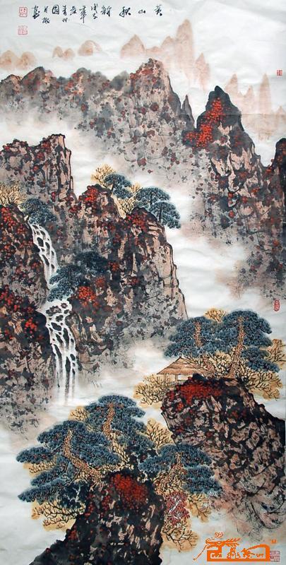 李月振-44(已出售)-淘宝-名人字画-中国书画交易中心
