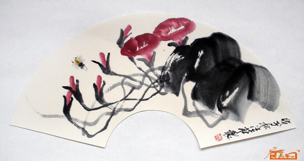 汪壮-仓鼠蜜蜂-淘宝-名人字画-书画服务中心、牵牛粮怎么选图片