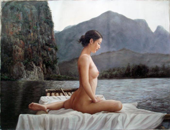 青年画家陈建添作品 欣赏 - 石墨閣藝術長廊 - 石墨閣藝術長廊--雨濃的博客