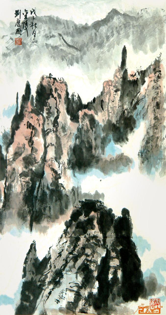 刘庆国-国画山水-淘宝-名人字画-中国书画交易中心