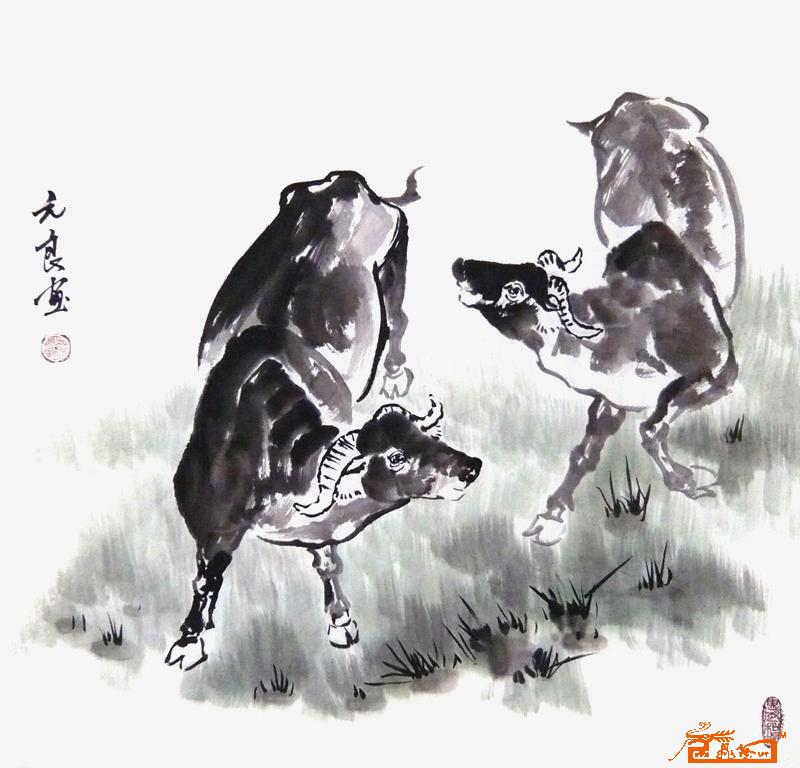 素描机械牛结构图