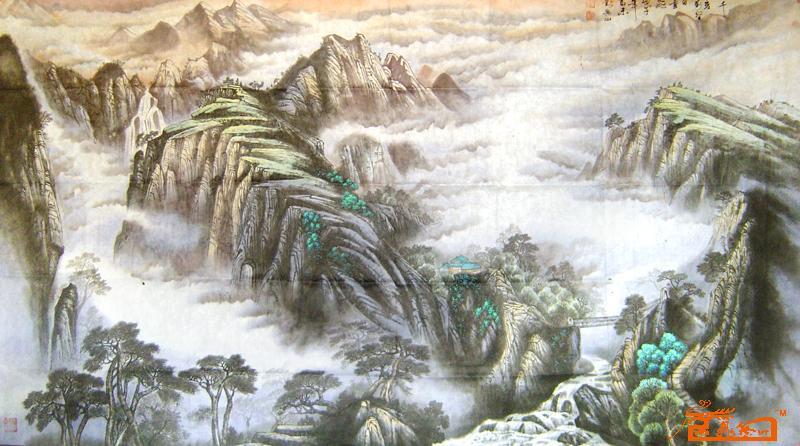 刘兴山-千岩万壑-淘宝-名人字画-书画服务中心