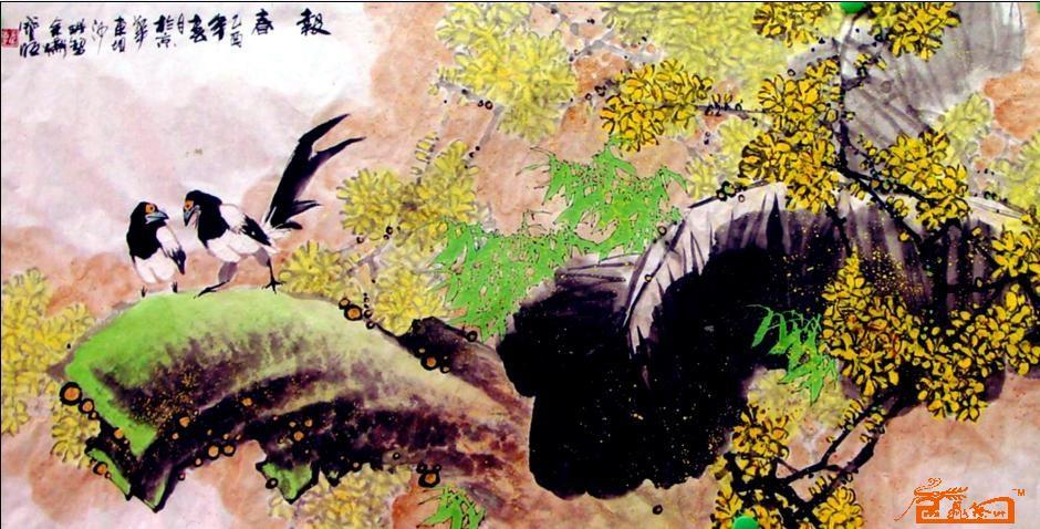 迎春花的简笔画图片