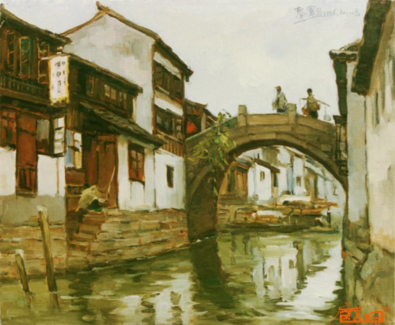 擅长油画风景亦工文学,摄影,10岁试笔,19岁有作品问世,幸得益于靳尚谊