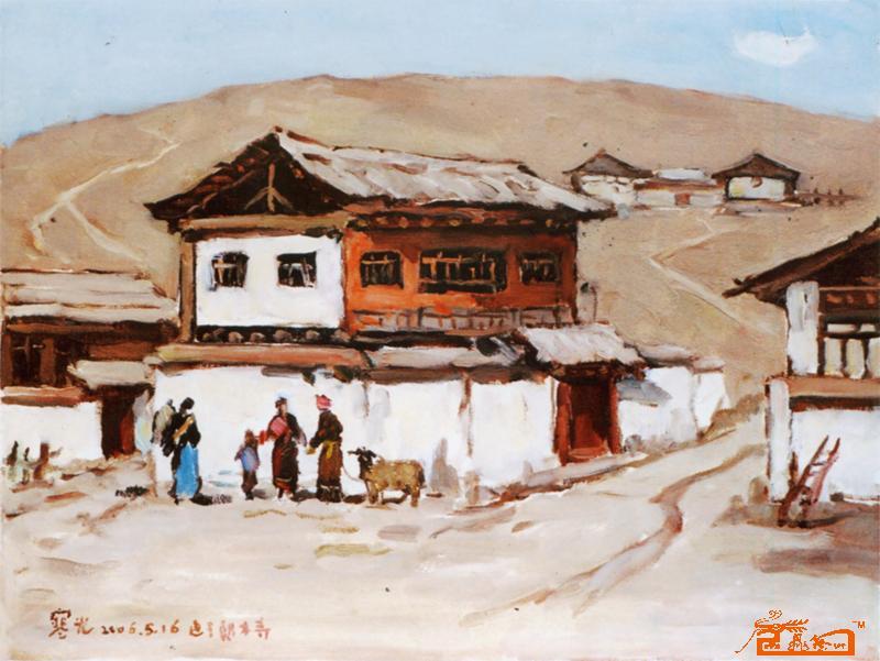 擅长油画风景亦工文学,摄影,10岁试笔,19岁有作品问世,幸得益于靳尚