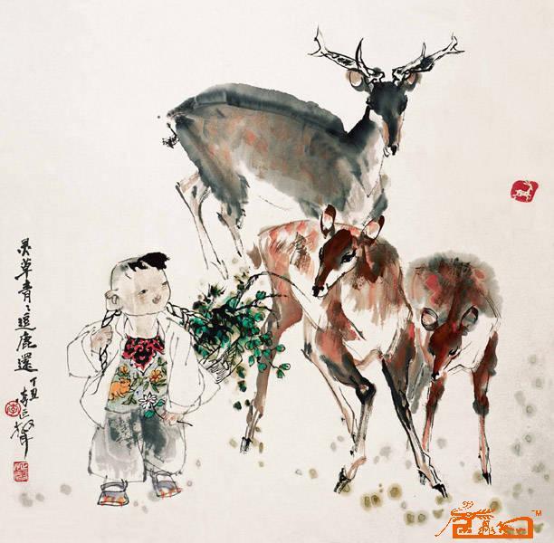 著名国画家李延声 - 北京瑞丰达文化 - 北京瑞丰达文化艺术