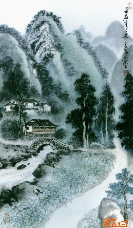 壁纸 风景 国画 525_900 竖版 竖屏 手机