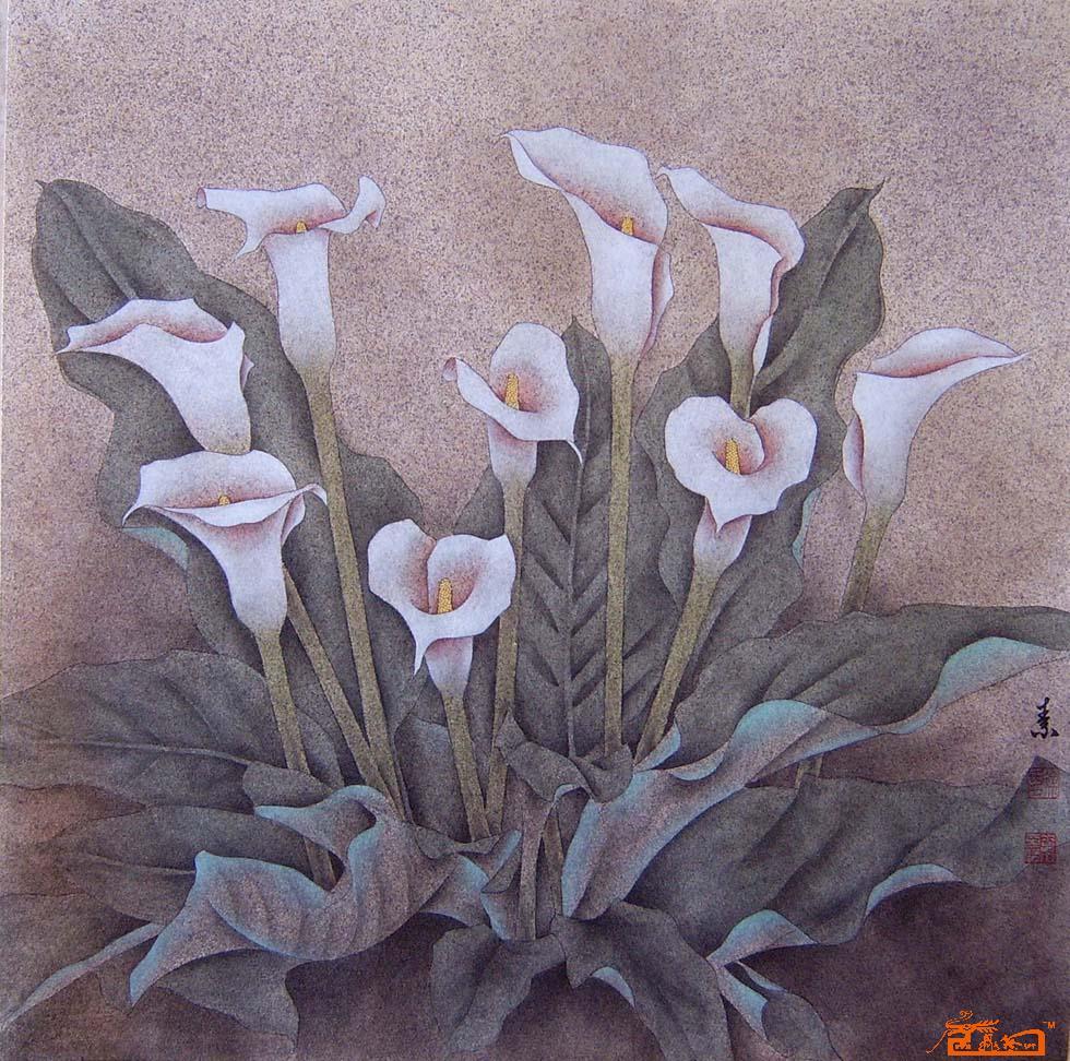 现为滨州四中美术教师,滨州市美术家协会理事.主攻工笔花鸟画.