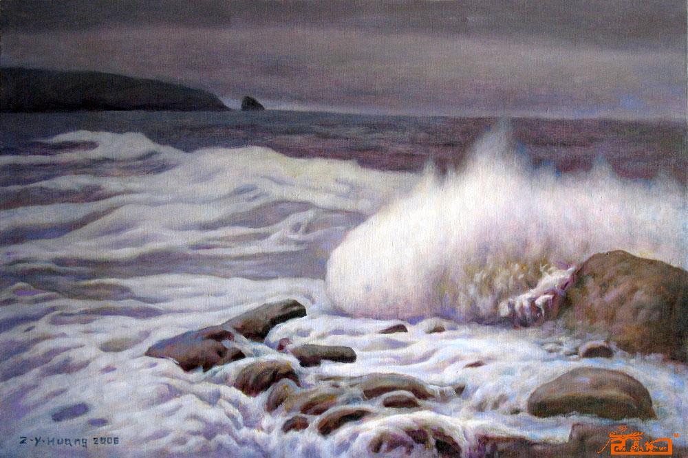中国油画名家黄正元期权艺术收藏