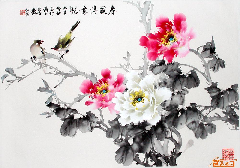 诗画作品图片_石化三小学生书画作品图片