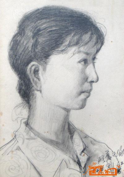 第一页 前一页  后一页最后页 名家 杜红早 油画 - 素描头像6