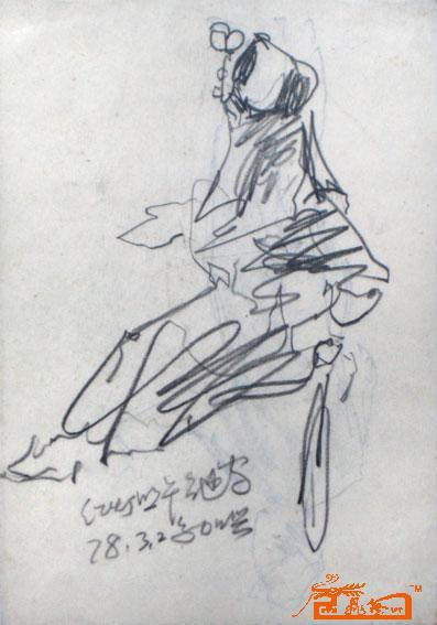 杜红早-速写动态3-淘宝-名人字画-中国书画交易中心