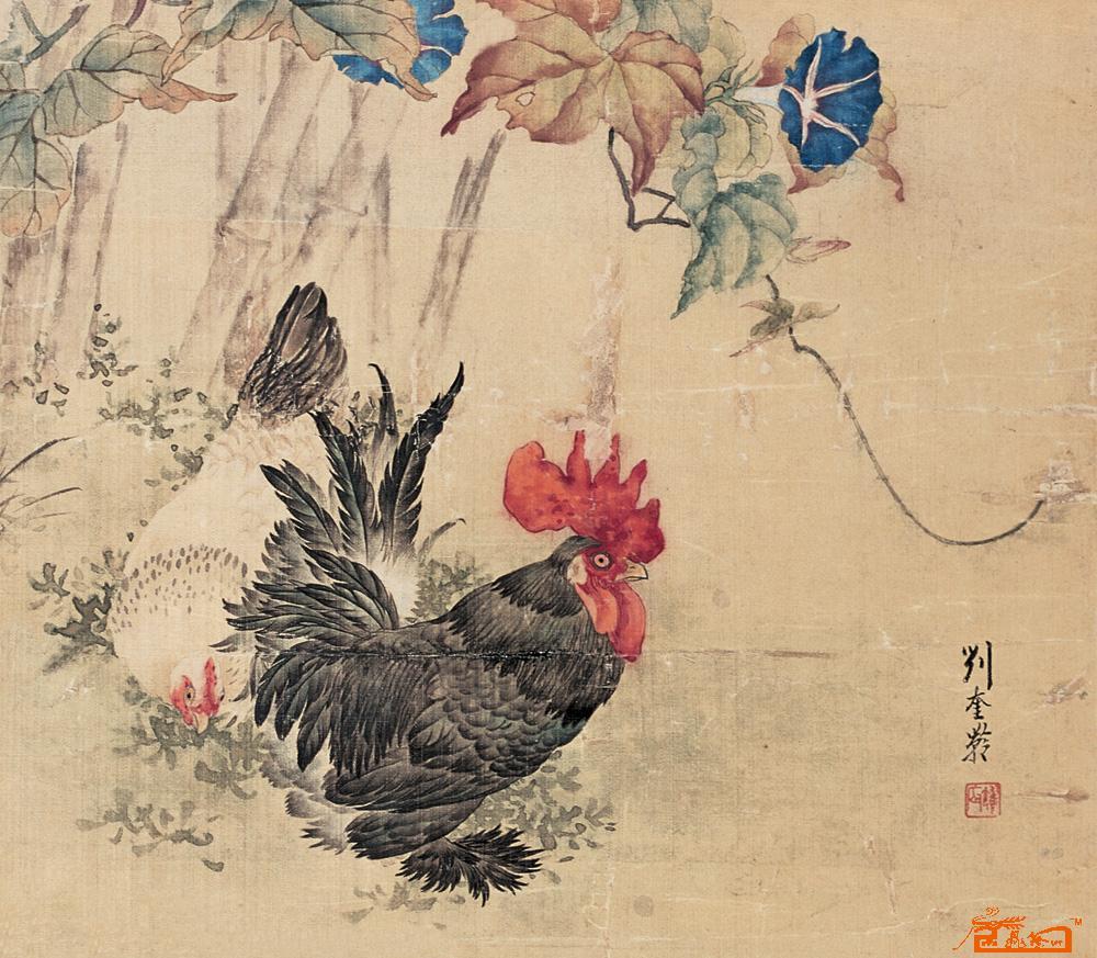 动物画家刘奎龄