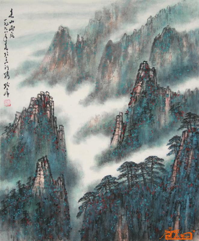 名家 杨树常 国画 - 作品4 当前 位粉丝喜爱本幅作品