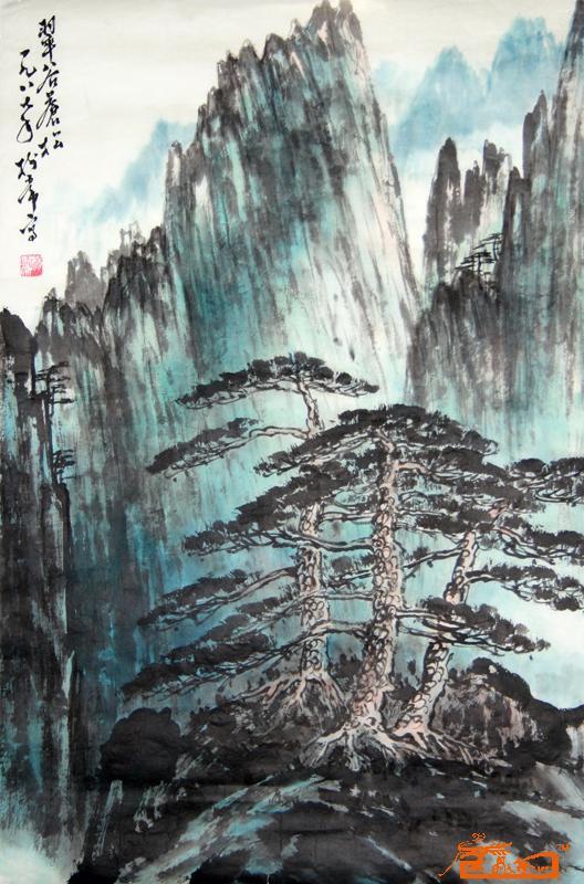 名家 杨树常 国画 - 作品26 当前 位粉丝喜爱本幅作品