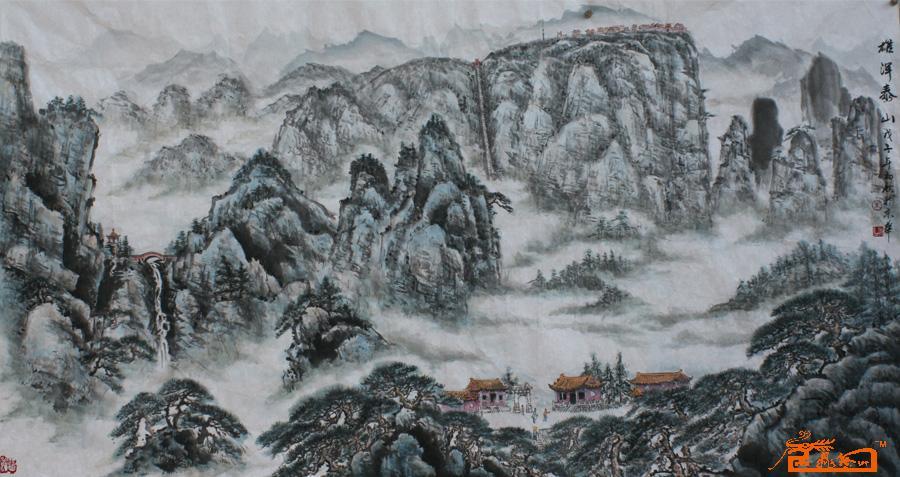 泰山旅游风景图片;; 五岳独尊--泰山_cysss吧_贴吧; 2号 雄浑泰山