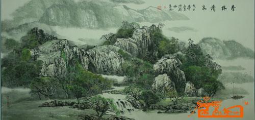春林清泉图片
