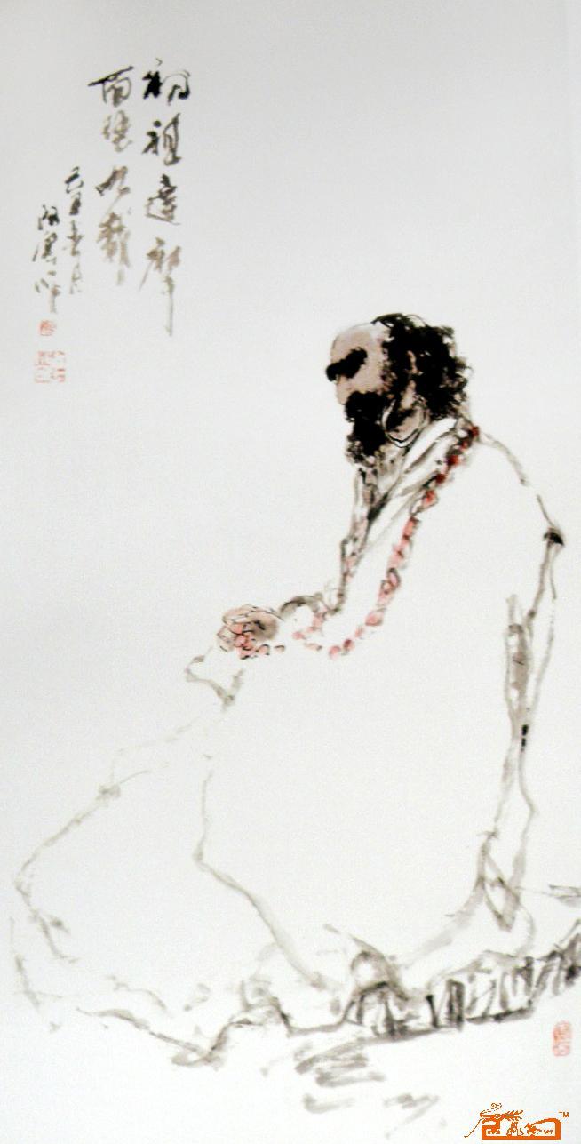 中国国画名家廖连贵期权艺术收藏